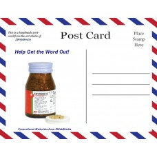 Postcards, T-S, 120 Pack